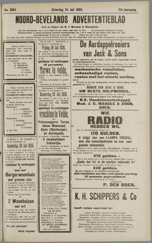 Noord-Bevelands Nieuws- en advertentieblad 1926-07-24