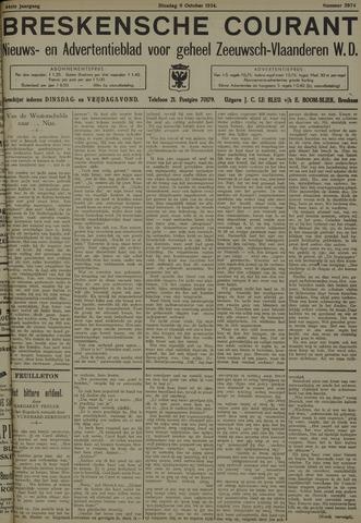 Breskensche Courant 1934-10-09