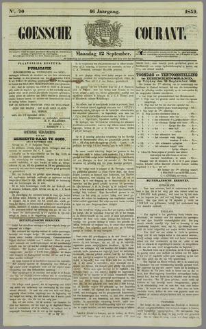 Goessche Courant 1859-09-12