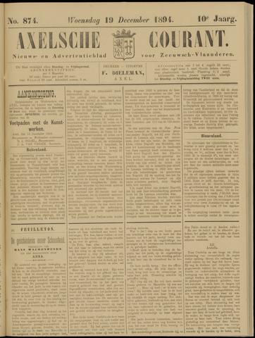 Axelsche Courant 1894-12-19