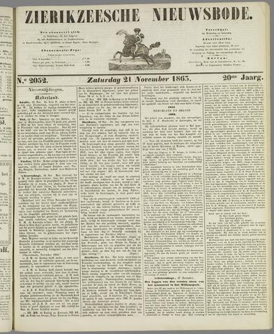 Zierikzeesche Nieuwsbode 1863-11-21