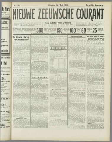 Nieuwe Zeeuwsche Courant 1916-05-16