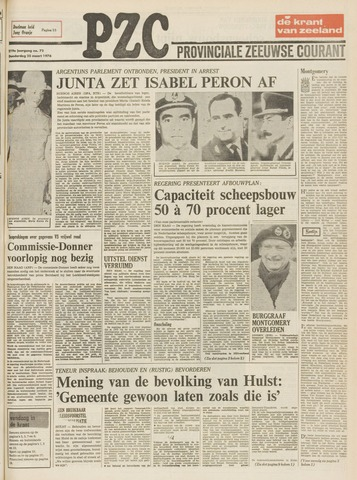 Provinciale Zeeuwse Courant 1976-03-25