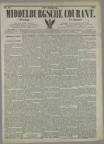 Middelburgsche Courant 1891-01-13