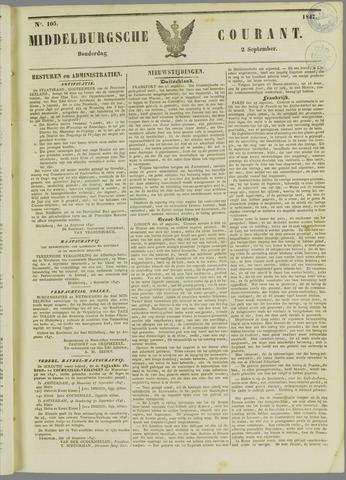 Middelburgsche Courant 1847-09-02