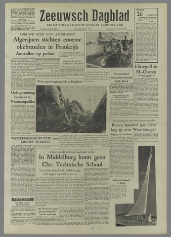 Zeeuwsch Dagblad 1958-08-26