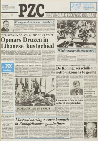 Provinciale Zeeuwse Courant 1985-04-29
