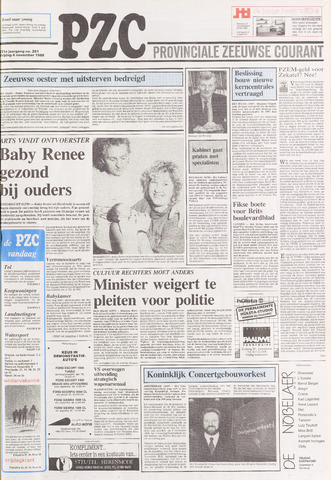 Provinciale Zeeuwse Courant 1988-11-04