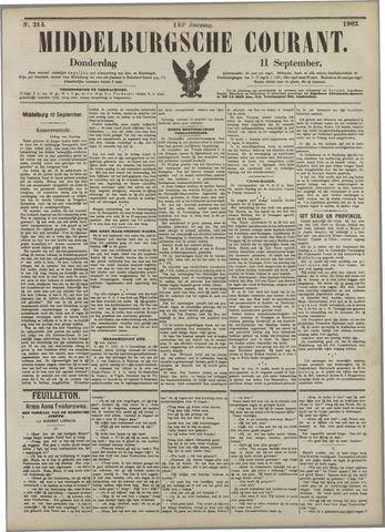 Middelburgsche Courant 1902-09-11