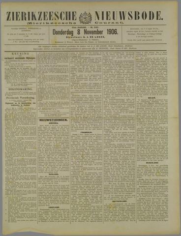 Zierikzeesche Nieuwsbode 1906-11-08