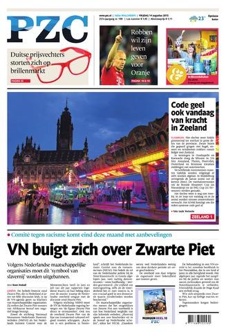 Provinciale Zeeuwse Courant 2015-08-14