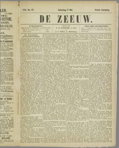 De Zeeuw. Christelijk-historisch nieuwsblad voor Zeeland 1890-05-17