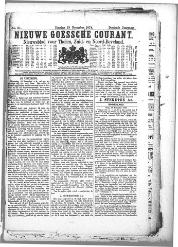 Nieuwe Goessche Courant 1878-11-19