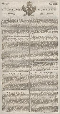 Middelburgsche Courant 1768-12-03