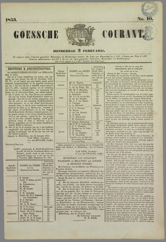 Goessche Courant 1853-02-03