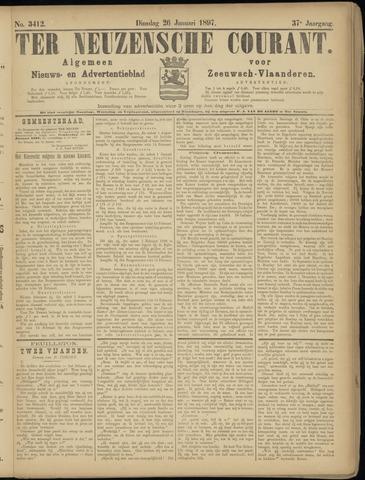 Ter Neuzensche Courant. Algemeen Nieuws- en Advertentieblad voor Zeeuwsch-Vlaanderen / Neuzensche Courant ... (idem) / (Algemeen) nieuws en advertentieblad voor Zeeuwsch-Vlaanderen 1897-01-26