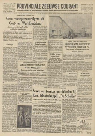 Provinciale Zeeuwse Courant 1953-12-17