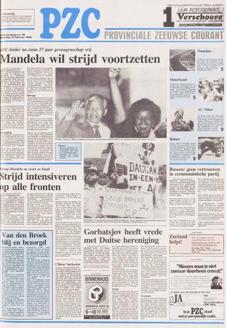 Provinciale Zeeuwse Courant 1990-02-12