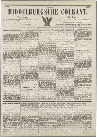Middelburgsche Courant 1901-04-24