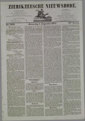 Zierikzeesche Nieuwsbode 1874-08-01
