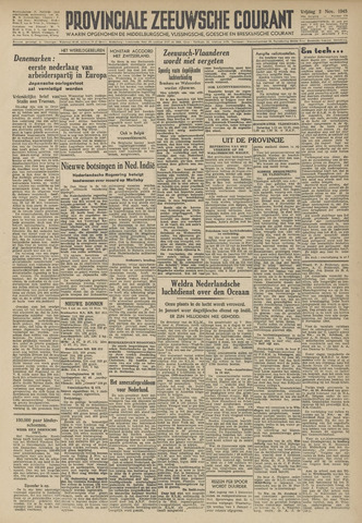 Provinciale Zeeuwse Courant 1945-11-02