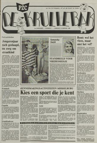 Provinciale Zeeuwse Courant katern Krullenbak (1981-1999) 1986