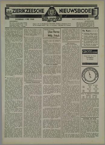Zierikzeesche Nieuwsbode 1940-05-04