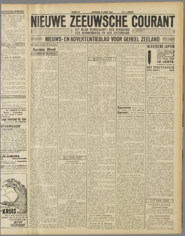 Nieuwe Zeeuwsche Courant 1934-04-21