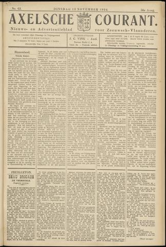 Axelsche Courant 1934-11-13