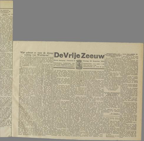 de Vrije Zeeuw 1944-11-28