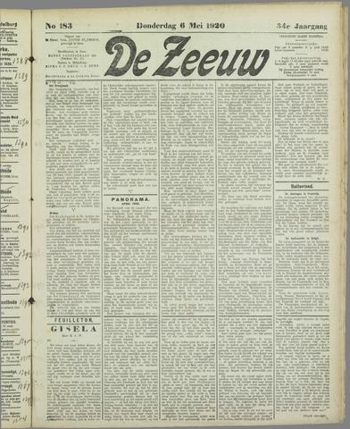 De Zeeuw. Christelijk-historisch nieuwsblad voor Zeeland 1920-05-06