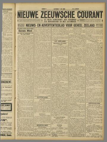 Nieuwe Zeeuwsche Courant 1928-07-07