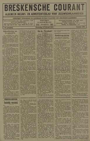 Breskensche Courant 1923-02-14