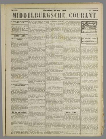 Middelburgsche Courant 1919-05-31