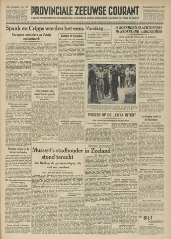 Provinciale Zeeuwse Courant 1949-06-30