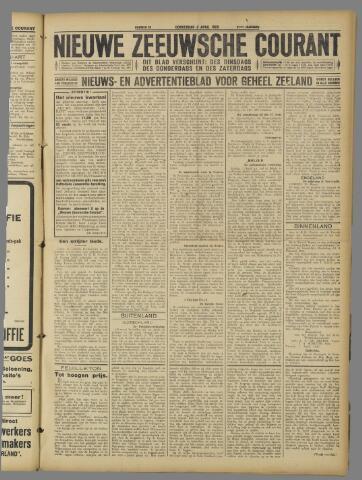 Nieuwe Zeeuwsche Courant 1925-04-02
