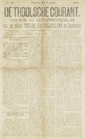 Ierseksche en Thoolsche Courant 1885-02-28