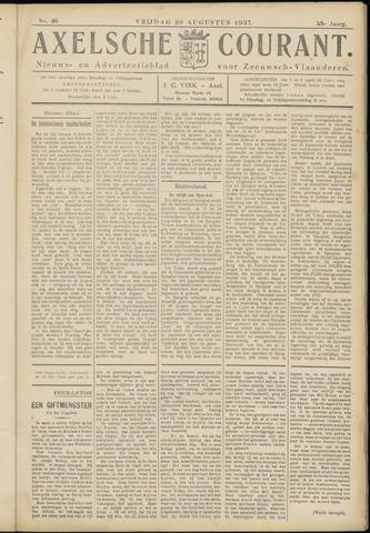 Axelsche Courant 1937-08-20