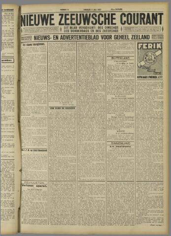 Nieuwe Zeeuwsche Courant 1927-07-05