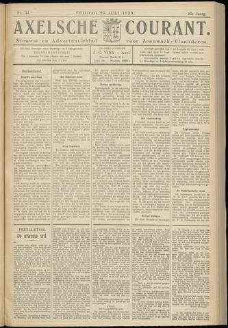 Axelsche Courant 1930-07-25
