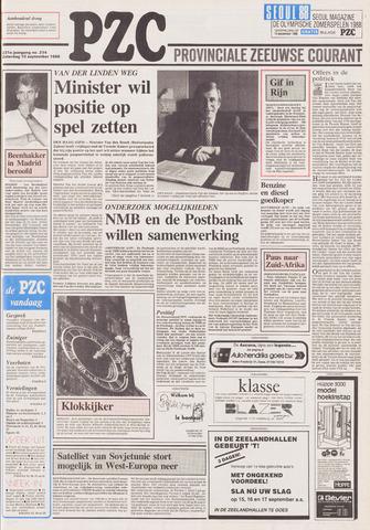 Provinciale Zeeuwse Courant 1988-09-10