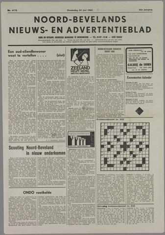 Noord-Bevelands Nieuws- en advertentieblad 1985-06-20