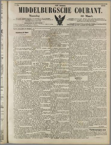 Middelburgsche Courant 1903-03-30