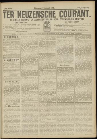 Ter Neuzensche Courant. Algemeen Nieuws- en Advertentieblad voor Zeeuwsch-Vlaanderen / Neuzensche Courant ... (idem) / (Algemeen) nieuws en advertentieblad voor Zeeuwsch-Vlaanderen 1915-03-09
