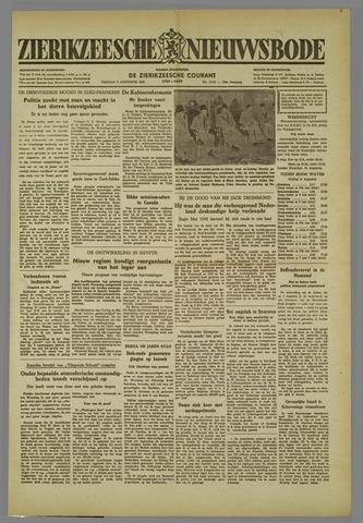 Zierikzeesche Nieuwsbode 1952-08-08