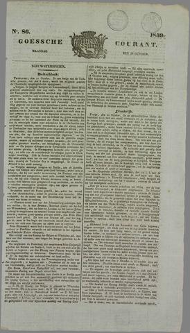 Goessche Courant 1839-10-28
