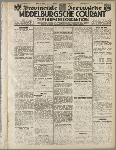 Middelburgsche Courant 1934-05-01