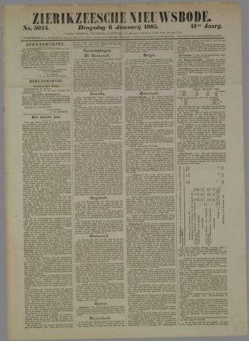 Zierikzeesche Nieuwsbode 1885-01-06