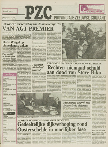 Provinciale Zeeuwse Courant 1977-12-03
