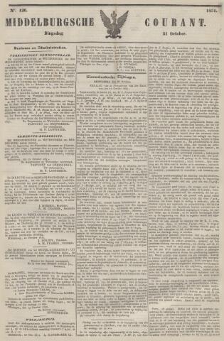 Middelburgsche Courant 1851-10-21